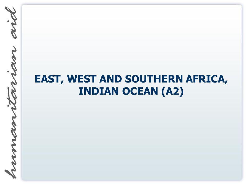 EAST, WEST AND SOUTHERN AFRICA, INDIAN OCEAN (A2)