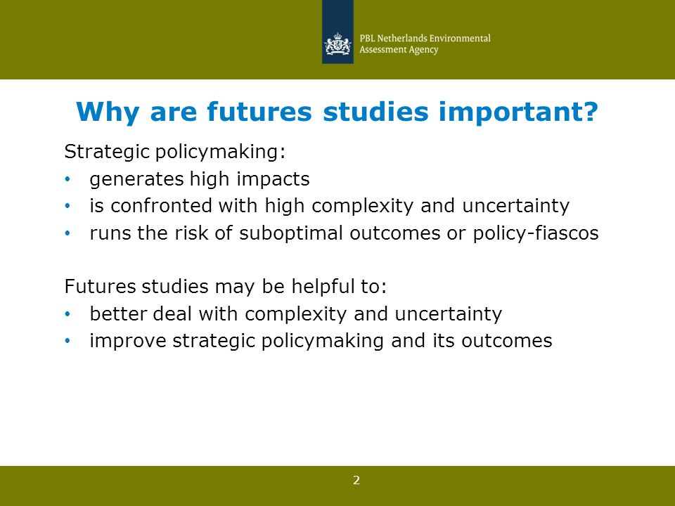 3 Why are futures studies important?