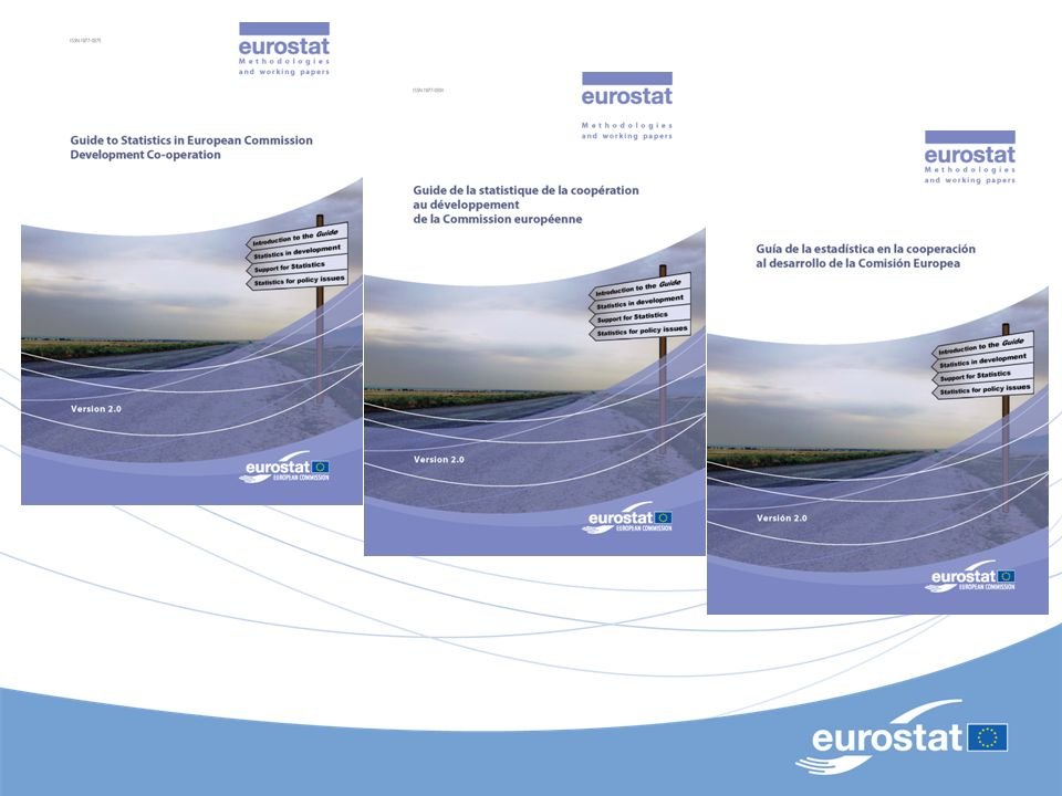 Eurostat – Unit D2 7 What is available in the Guide in 2012.