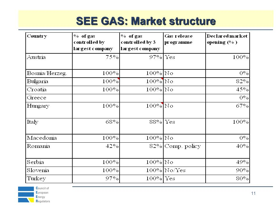 11 SEE GAS: Market structure Neıghbours %1286.9