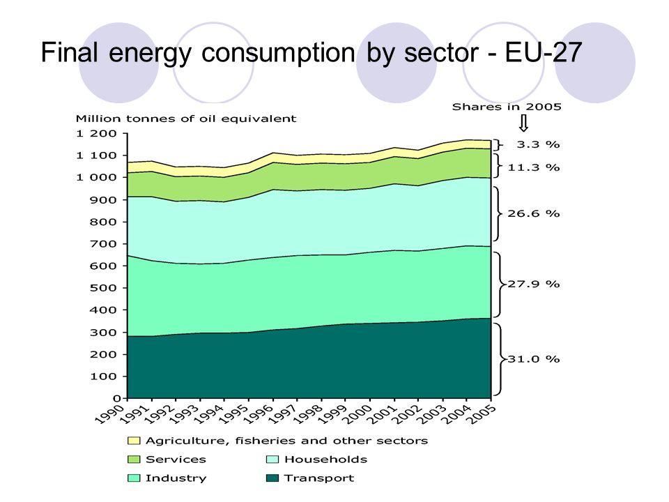 Dr. Doerte Fouquet EREF Final energy consumption by sector - EU-27