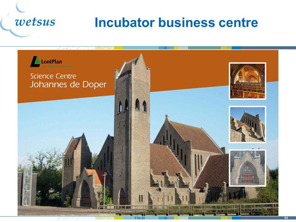 11File 20 Incubator business centre