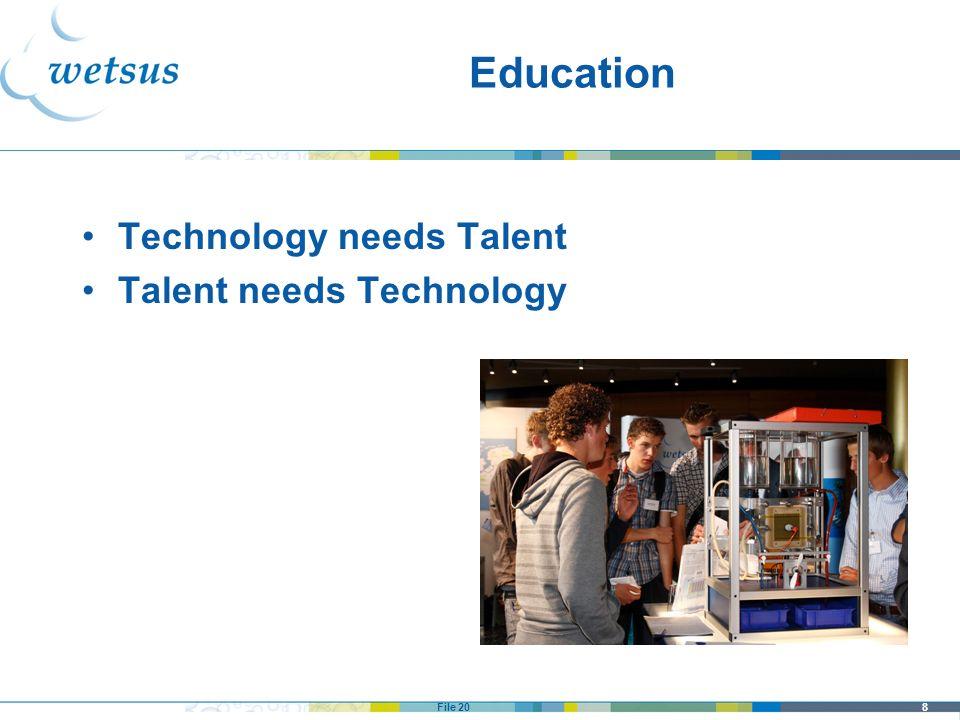8File 20 Education Technology needs Talent Talent needs Technology
