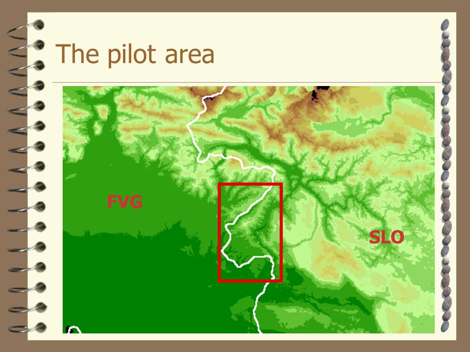 The pilot area SLO FVG