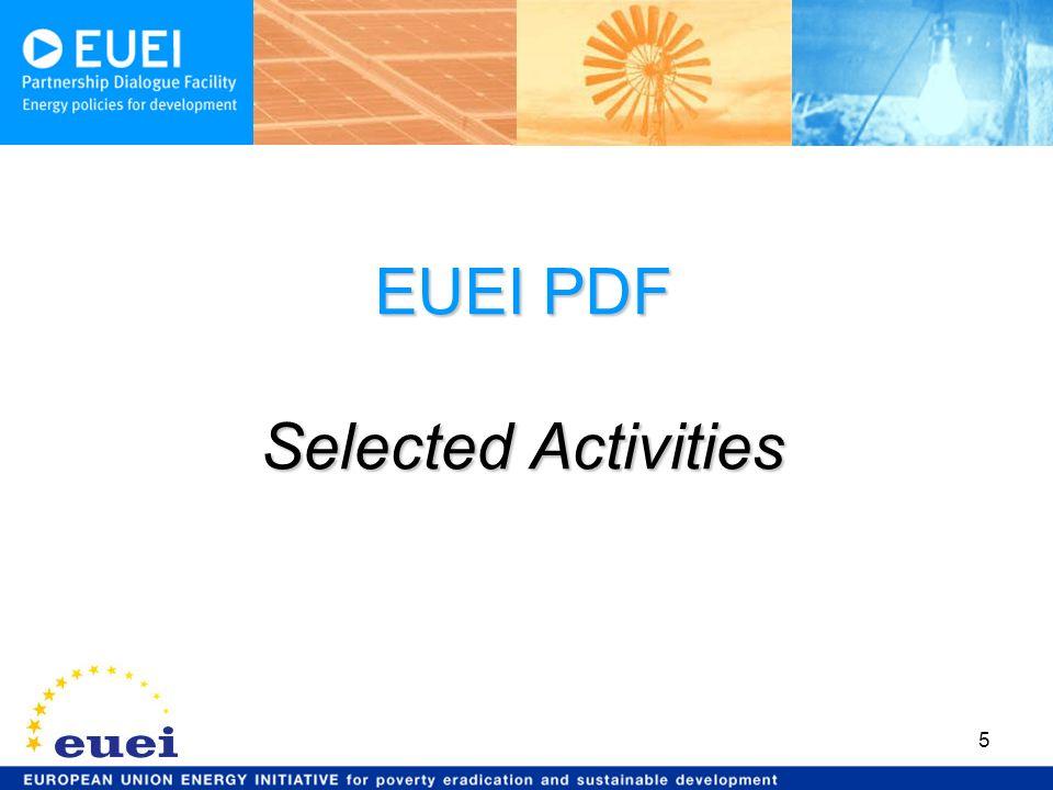 5 EUEI PDF Selected Activities