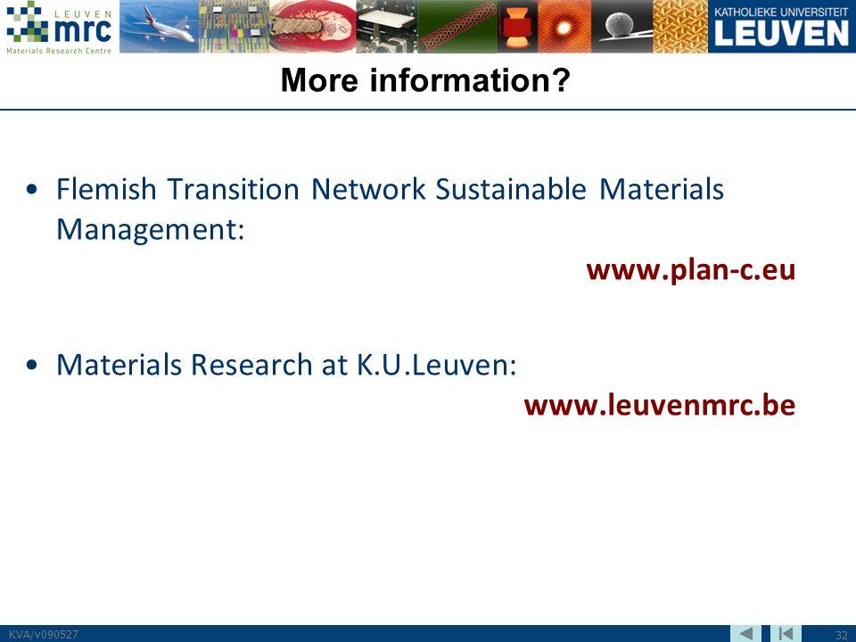 32 KVA/v090527 More information.