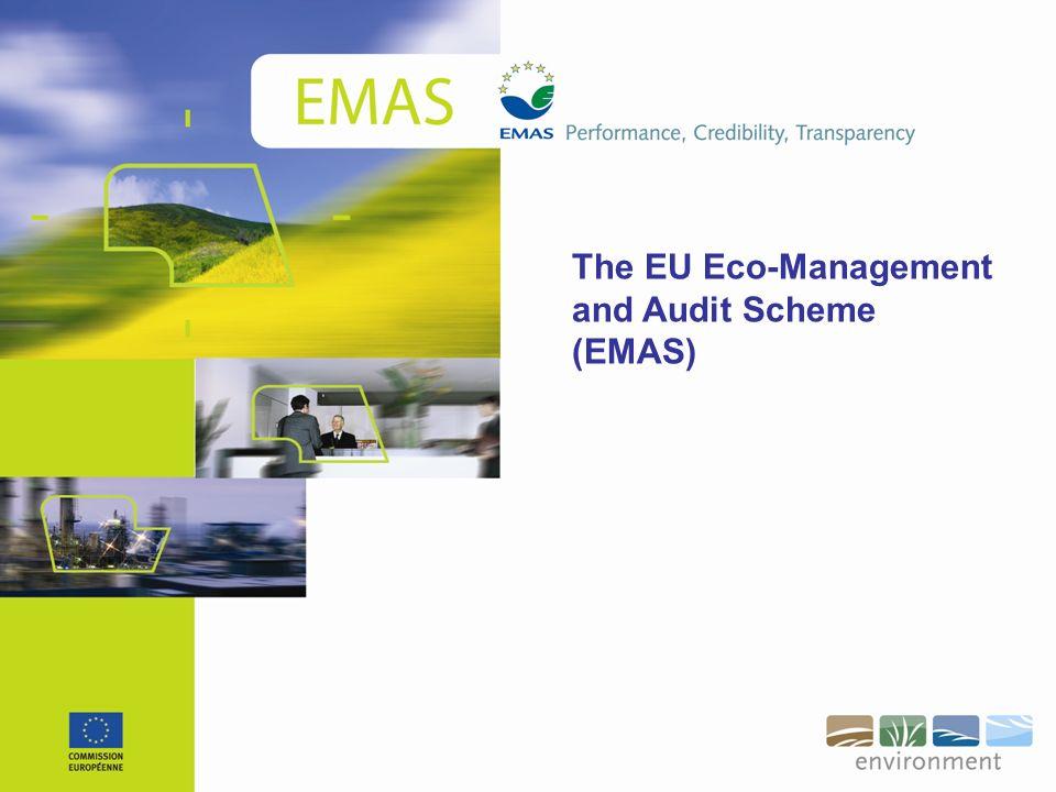 The EU Eco-Management and Audit Scheme (EMAS)