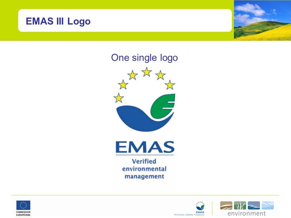 One single logo EMAS III Logo
