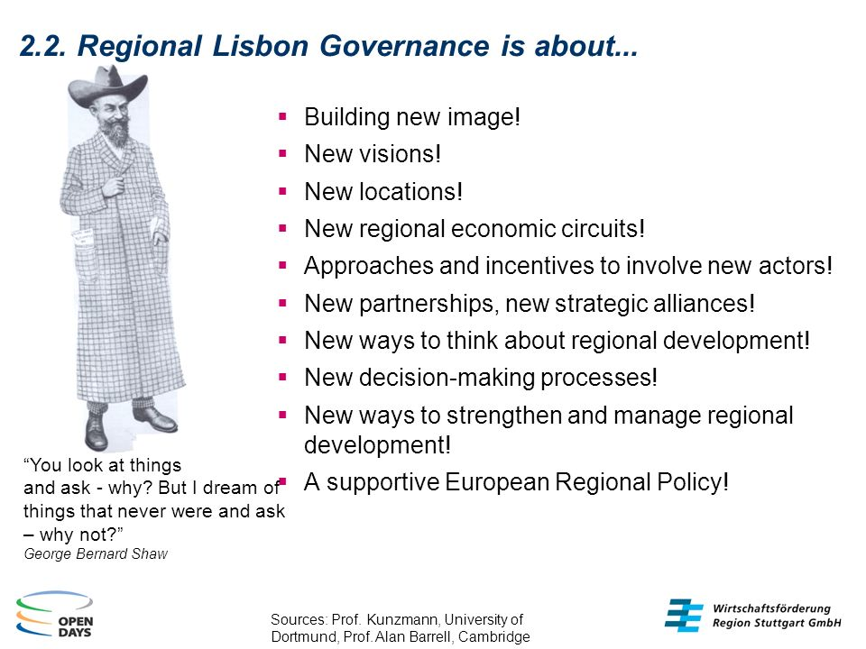 2.2. Regional Lisbon Governance is about... Building new image.