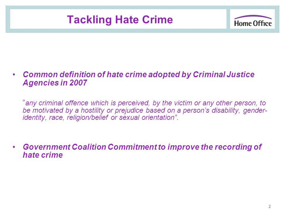 Tackling Hate Crime Combating Hate Speech - Legislation Suzelle Dickson, United Kingdom, 18 June 2012 Jerusalem