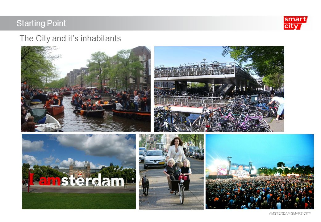 Amsterdam Smart City What is a Smart City.