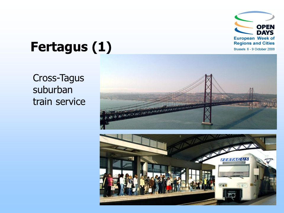 Fertagus (1) Cross-Tagus suburban train service