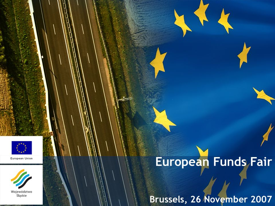 European Funds Fair Brussels, 26 November 2007