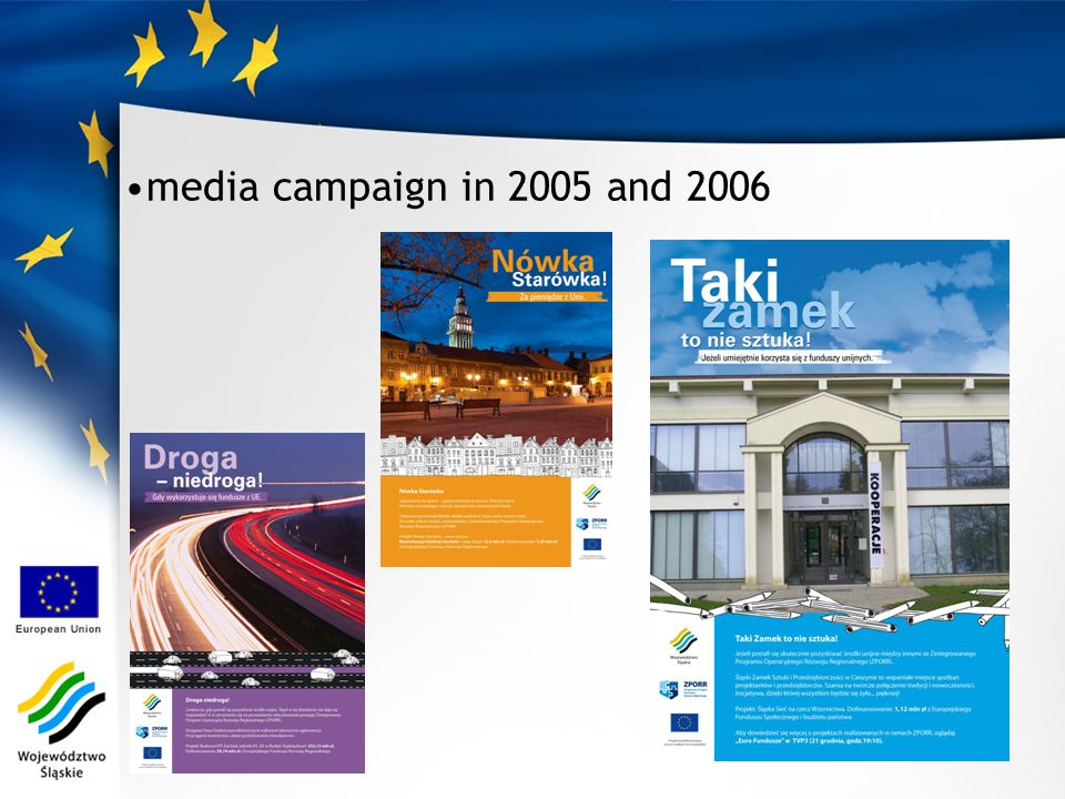 media campaign in 2005 and 2006