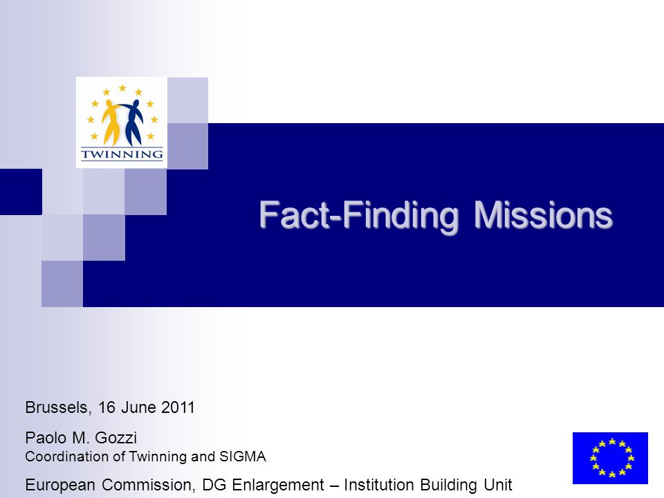 Fact-Finding Missions Brussels, 16 June 2011 Paolo M.