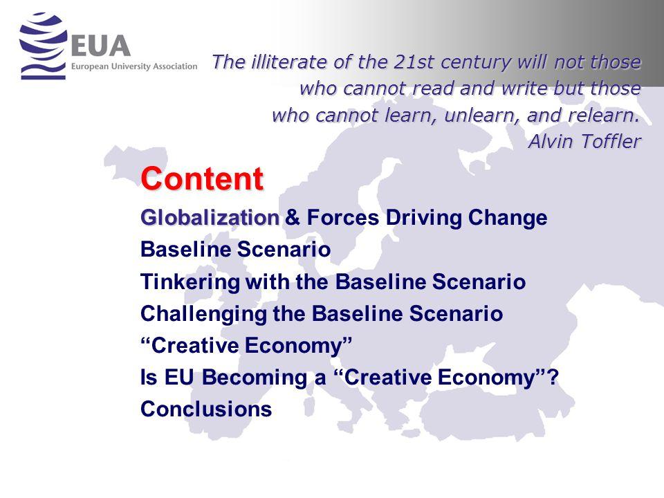 From Knowledge Economy to Creative Economy Creativity Creativity involves the ability to synthesize.
