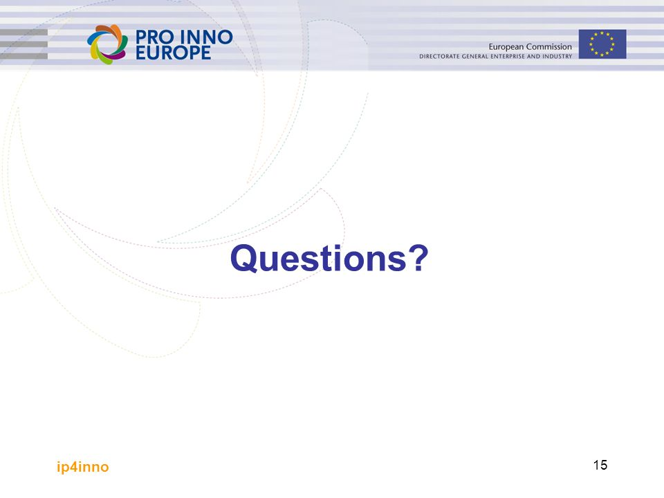 ip4inno 15 Questions