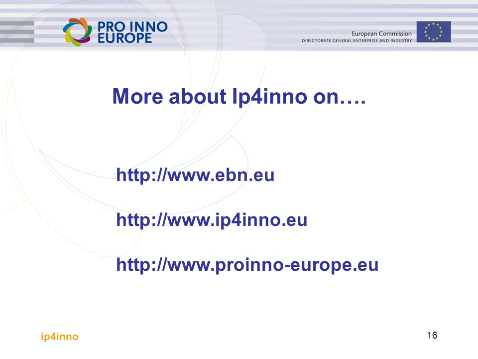 ip4inno More about Ip4inno on….