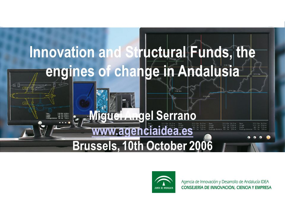 CONTENTS 1.- ANDALUSIA 2.- THE NEW AGENCY 3.- THE ANDALUSIA GLOBAL GRANT (SGA) 4.- THE REGIONAL INNOVATION SYSTEM 5.- CONCLUSION