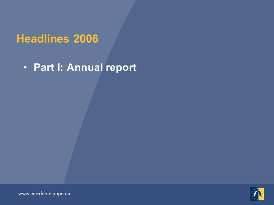 Headlines 2006 Part I: Annual report