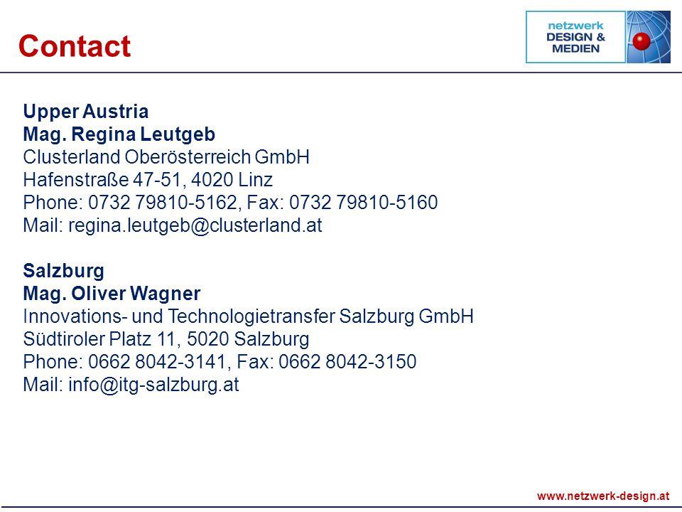 www.netzwerk-design.at Upper Austria Mag.