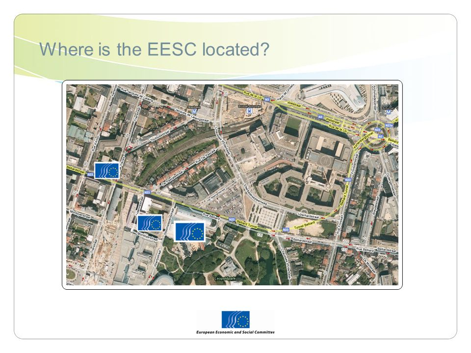 Where is the EESC located?