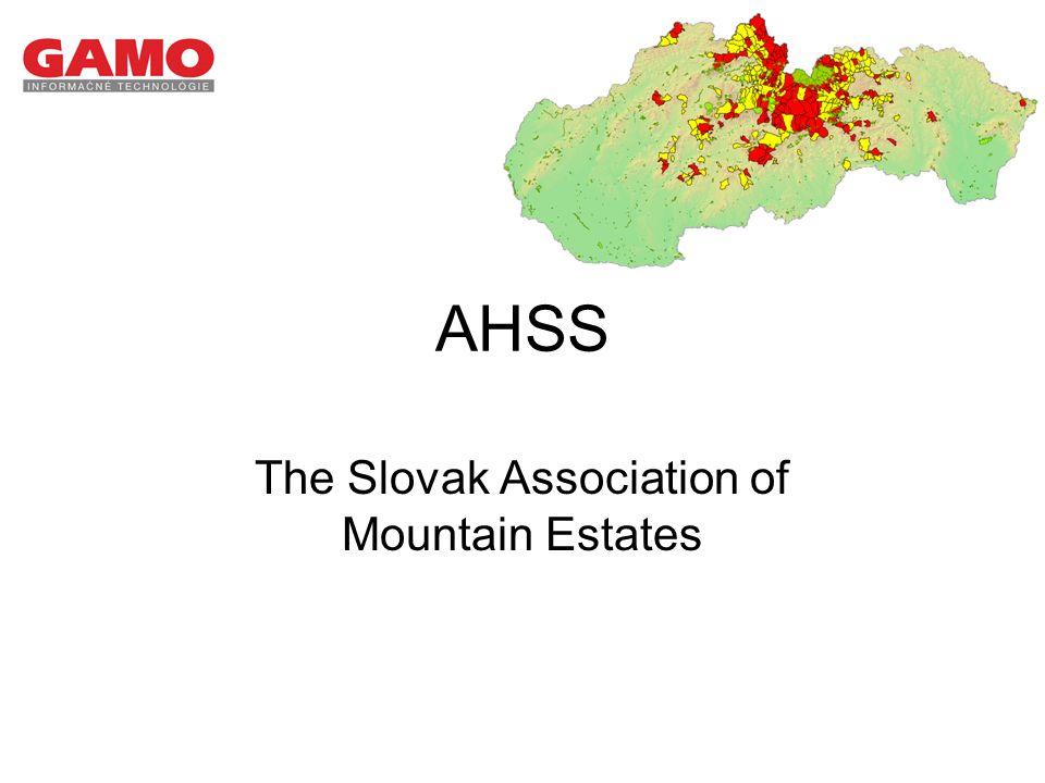 AHSS The Slovak Association of Mountain Estates