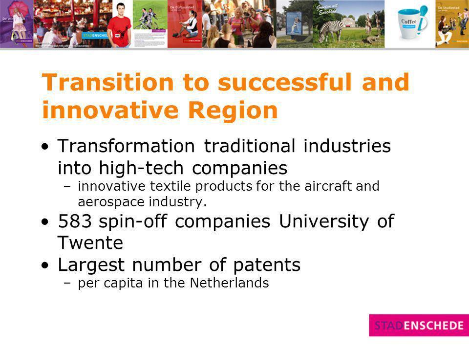 High-tech spin-offs University of Twente
