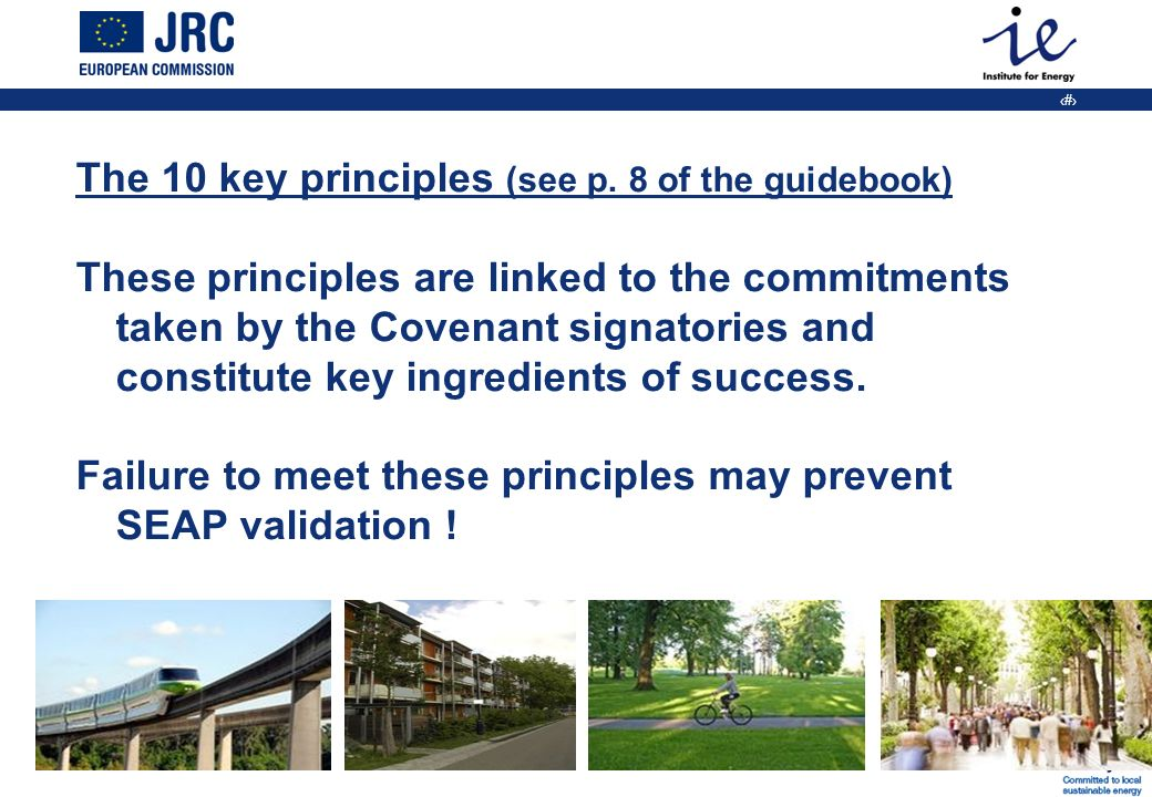 11 The 10 key principles (see p.