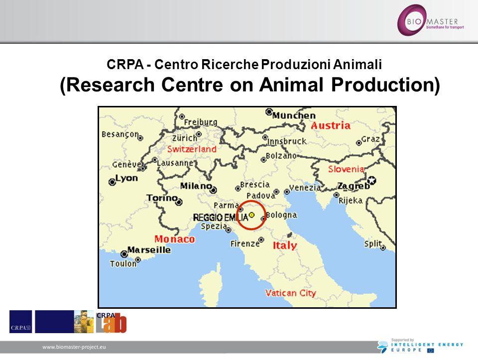 CRPA - Centro Ricerche Produzioni Animali (Research Centre on Animal Production)