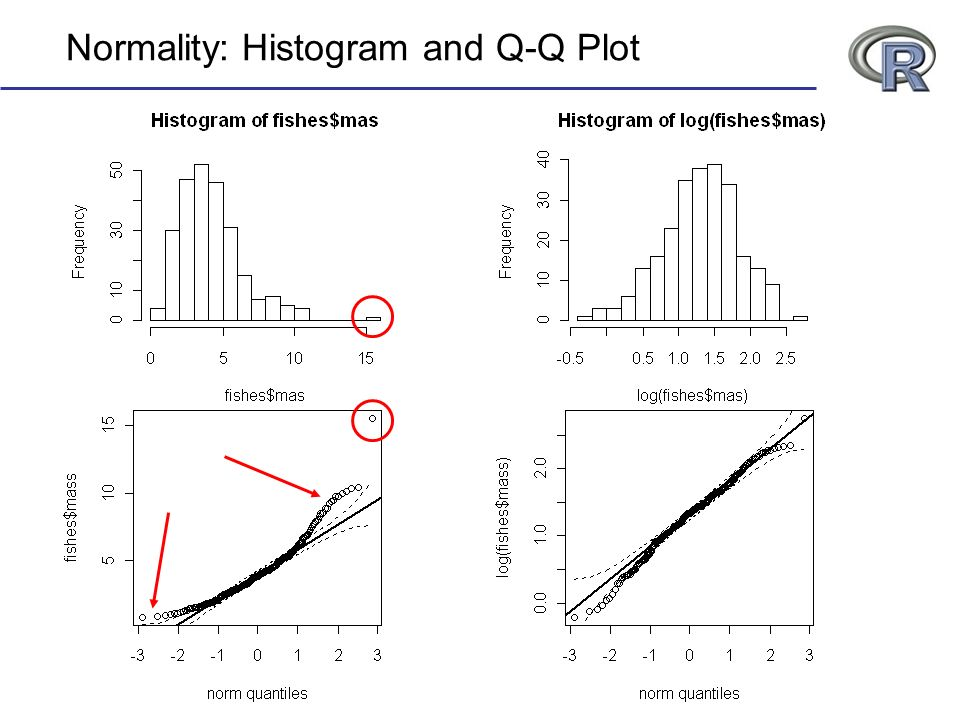 Normality: Histogram and Q-Q Plot