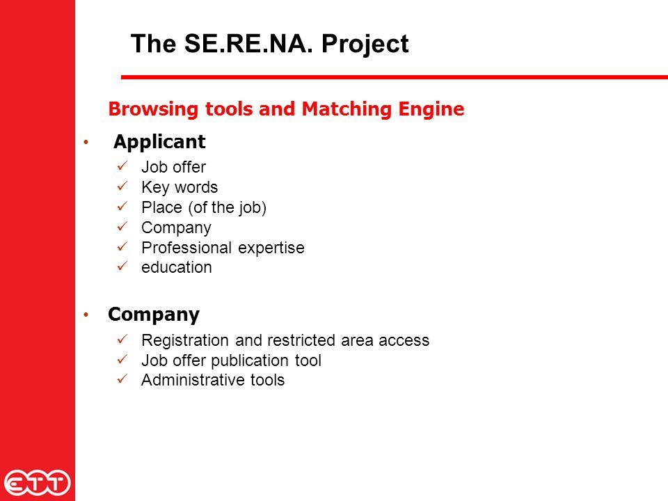 The SE.RE.NA.