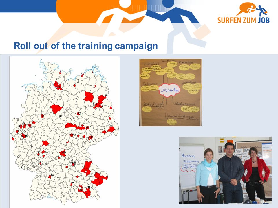 Roll out of the training campaign