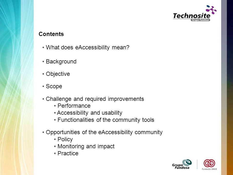What does eAccessibility mean.
