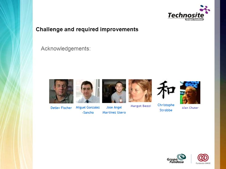 Acknowledgements: Challenge and required improvements