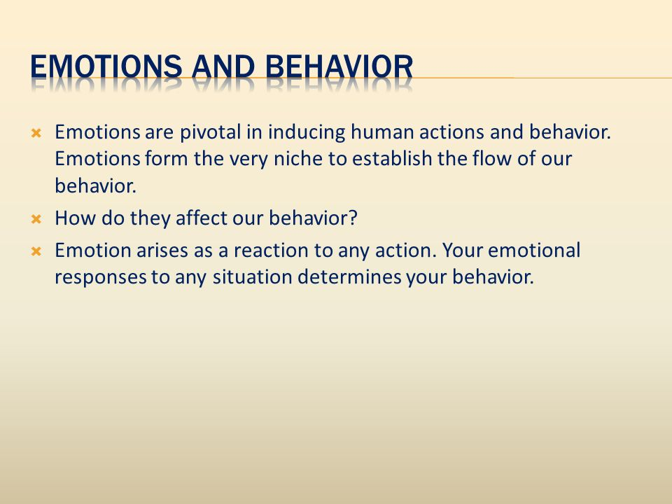 Emotions are pivotal in inducing human actions and behavior.