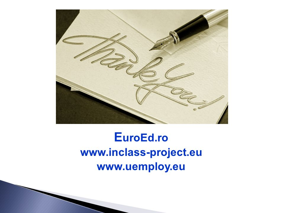 EuroEd Foundation (Romania) 1C Florilor Street 700513 Iasi, Romania Tel. +40-232-252850 contact@euroed.ro www.euroed.ro Context Learning (Finland) Lai
