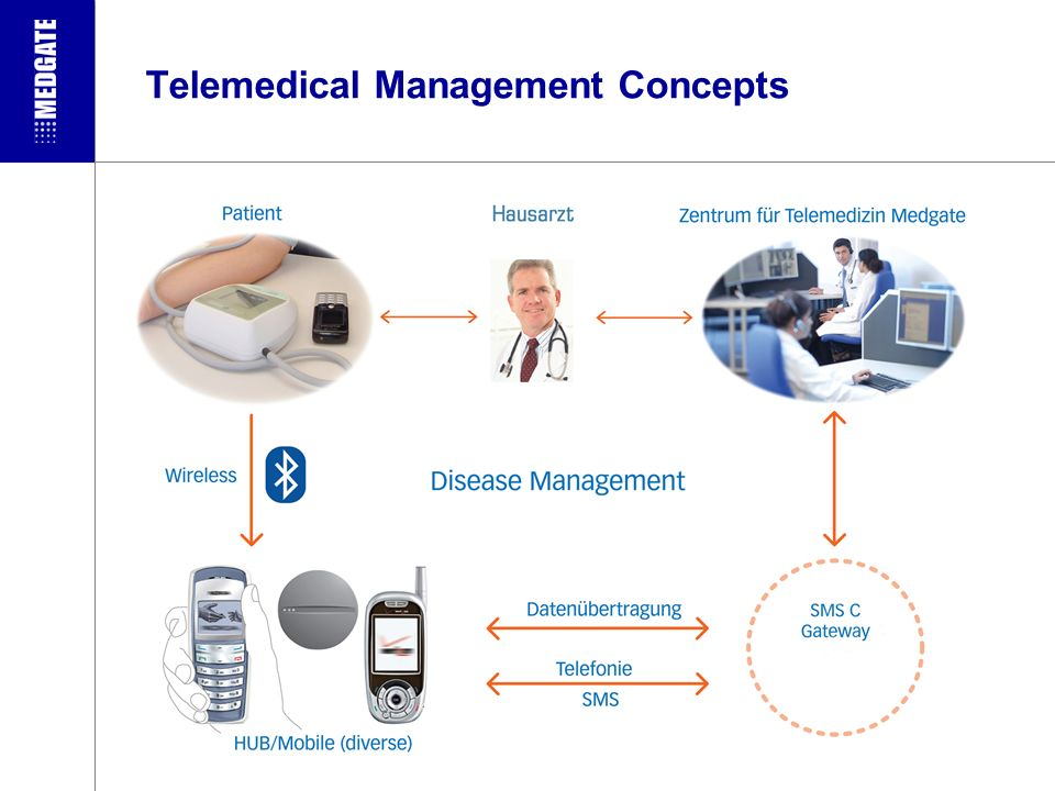 Telemedical Management Concepts