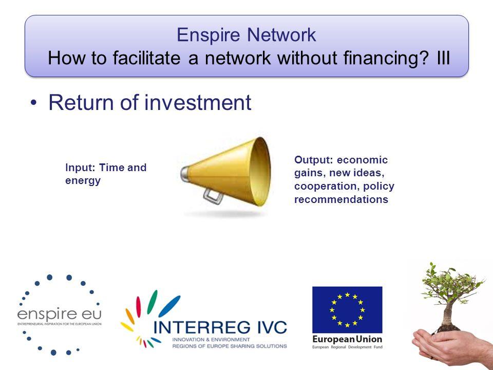 Enspire network Participants.