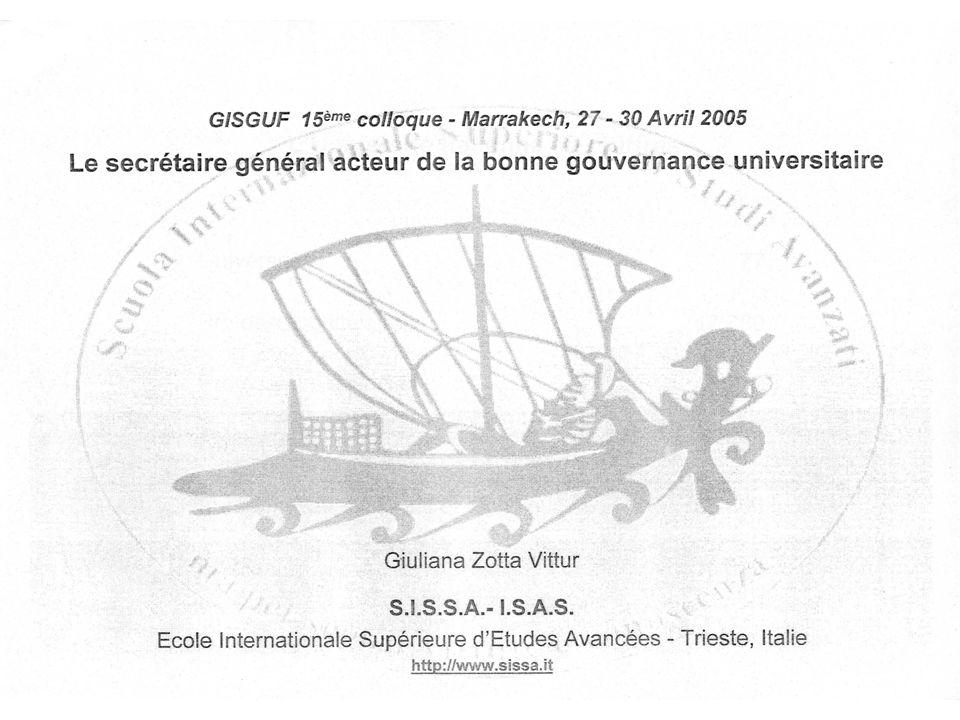 Trieste 16 sept.2006Françoise Granger12 (1st page Giuliana s presentation)