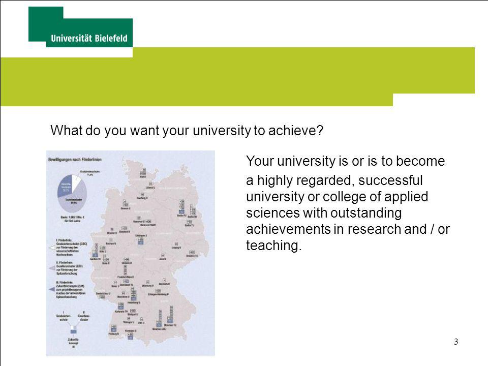4 To reach this aim you need Highly motivated academics who are passionate about teaching and research Students who study with passion Both prepared to make every effort to fulfil the highest expectations