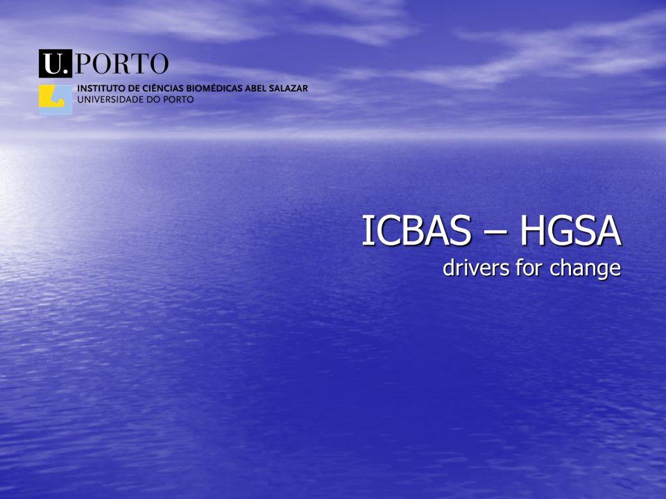 ICBAS – HGSA drivers for change