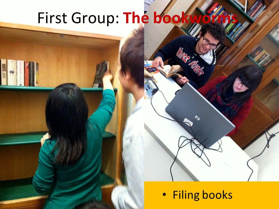 Filing books