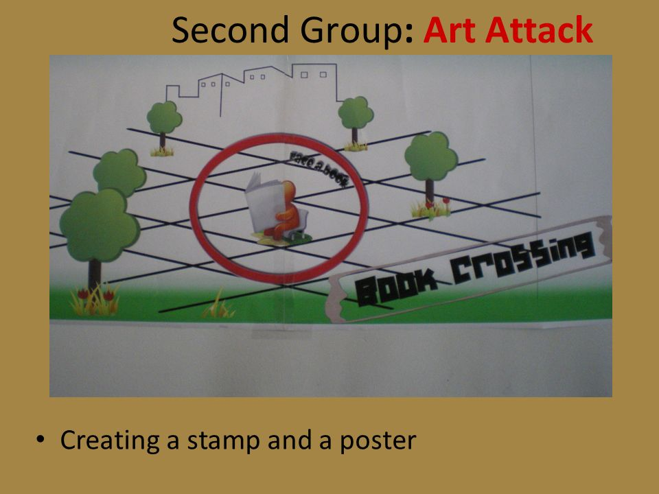 Creating a stamp and a poster