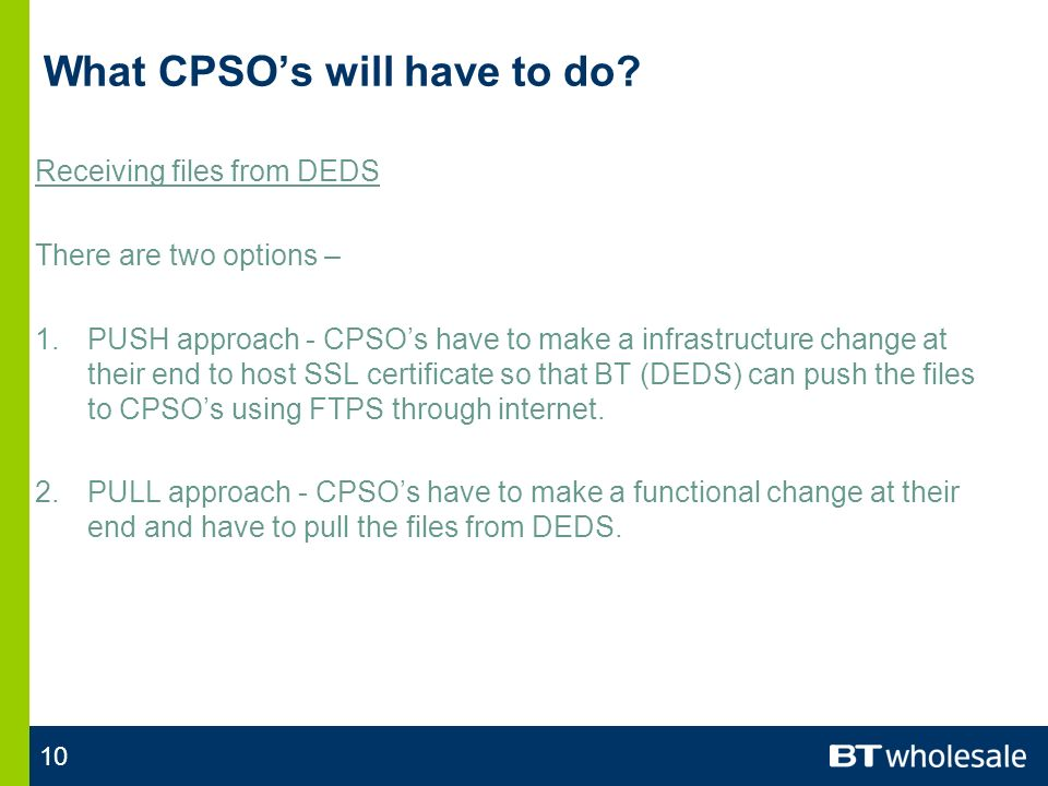 10 What CPSOs will have to do.
