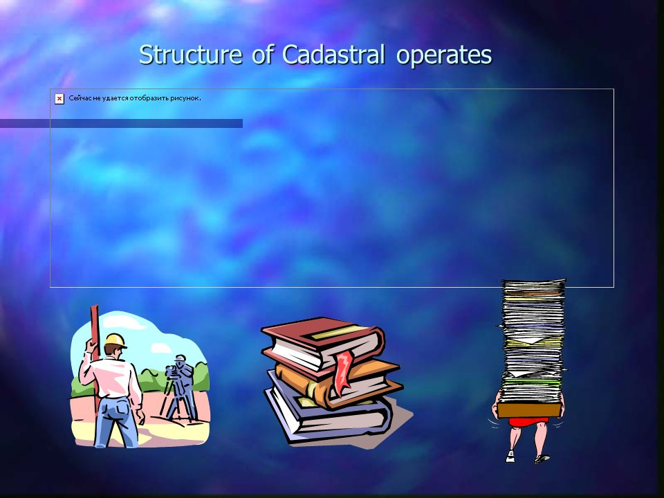 Structure of Cadastral operates