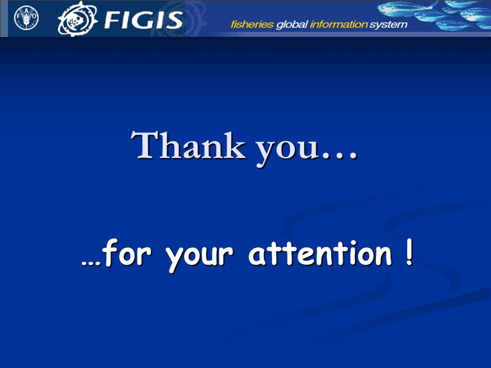 …for your attention ! Thank you…