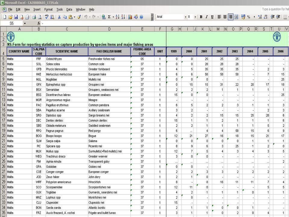 Data entry I