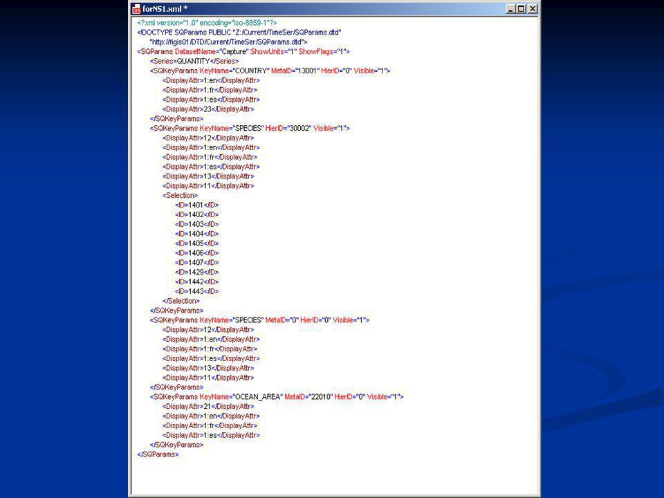StatQuery input - III