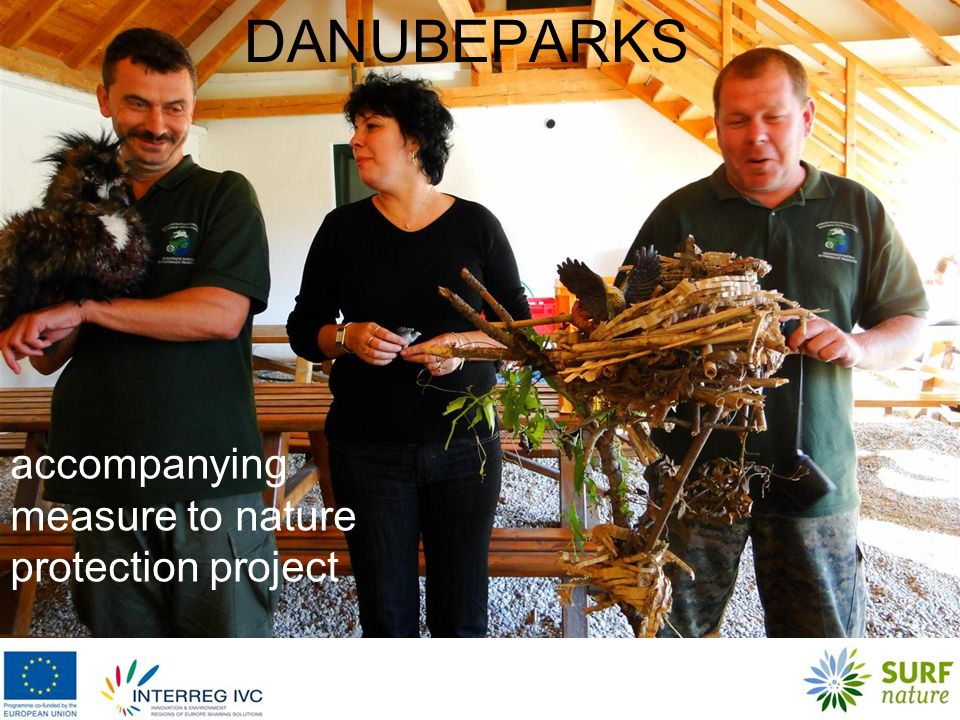 DANUBEPARKS accompanying measure to nature protection project